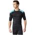 adidas Men's TechFit Base GFX Compression T-Shirt - Black: Image 3
