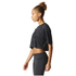 adidas Women's Aeroknit Boxy Crop Top - Black: Image 4