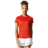 adidas Women's D2M Lose T-Shirt - Core Red: Image 3