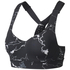 adidas Women's Climachill Marble High Support Sports Bra - Black: Image 1