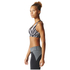 adidas Women's Climachill High Support Sports Bra - Black Print: Image 4