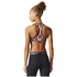 adidas Women's TechFit Graphic Medium Support Sports Bra - Print/Energy: Image 5