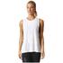 adidas Women's Logo Training Tank Top - White: Image 3