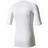 adidas Men's TechFit Climachill T-Shirt - White: Image 2