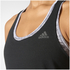 adidas Women's Prime Tank Top - Black: Image 8