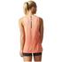 adidas Women's Boxy Melange Tank Top - Glow Orange: Image 5