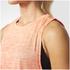 adidas Women's Boxy Melange Tank Top - Glow Orange: Image 7