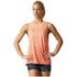 adidas Women's Boxy Melange Tank Top - Glow Orange: Image 3