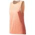 adidas Women's Boxy Melange Tank Top - Glow Orange: Image 1