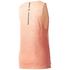 adidas Women's Boxy Melange Tank Top - Glow Orange: Image 2