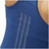 adidas Women's Supernova Running Tank Top - Mystery Blue: Image 7
