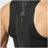 adidas Women's Speed Crop Tank Top - Black: Image 7