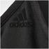 adidas Women's Strappy 3 Stripe Low Support Sports Bra - Black/White: Image 11
