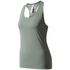 adidas Women's Climachill Tank Top - Trace Green: Image 1