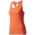 adidas Women's Climachill Tank Top - Core Red: Image 1