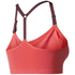 adidas Women's Seamless Low Support Sports Bra - Core Pink: Image 2