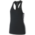adidas Women's D2M 3 Stripe Tank Top - Black: Image 1