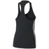 adidas Women's D2M 3 Stripe Tank Top - Black: Image 2