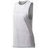 adidas Women's Boxy Melange Tank Top - White: Image 1