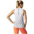 adidas Women's Boxy Melange Tank Top - White: Image 5