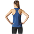 adidas Women's Climachill Tank Top - Mystery Blue: Image 3