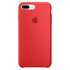 Apple iPhone 7 Plus Silicone Case - Red: Image 2