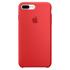 Étui en Silicone pour iPhone 7 Plus -Rouge: Image 2
