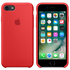 Apple iPhone 7 Silicone Case - Red: Image 1