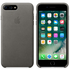 Apple iPhone 7 Plus Leather Case - Storm Gray
