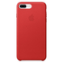 Apple iPhone 7 Plus Leather Case - Red: Image 2