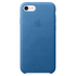 Apple iPhone 7 Leather Case - Sea Blue: Image 2