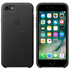 Apple iPhone 7 Leather Case - Black: Image 1