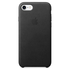 Apple iPhone 7 Leather Case - Black: Image 2