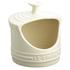 Le Creuset Stoneware Salt Pig - Almond: Image 1