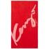 KENZO Signe Beach Towel - Rouge: Image 1