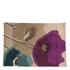 Flair Infinite Mod Rug - Art Poppy Flowers Teal/Purple: Image 2