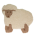 Flair Nursery Little Lamb Rug - Natural (75X80): Image 2