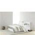 Calvin Klein Banded Net Cream Duvet Cover: Image 1