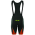 Alé R-EV1 Master Bib Shorts - Black/Orange