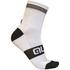 Alé Reflex 10cm Cuff Cycling Socks - White/Black: Image 1