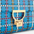 Coccinelle Women's Arlettis Psychedelic Tartan Bag - Blue: Image 4
