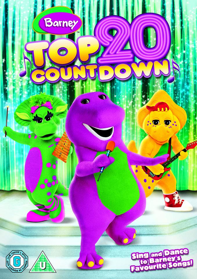 Barney Top 20 Countdown Dvd Zavvi