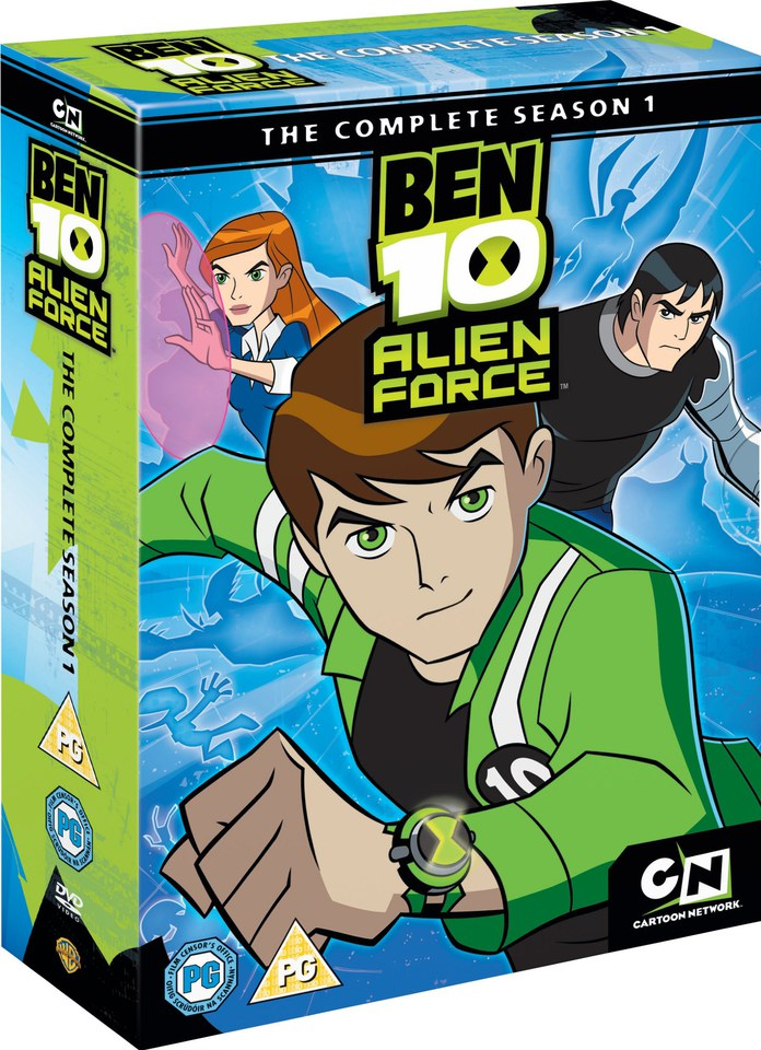Ben 10: Alien Force Complete Season 1