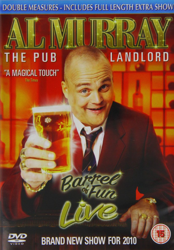 Al Murray - Barrel Of Fun Live
