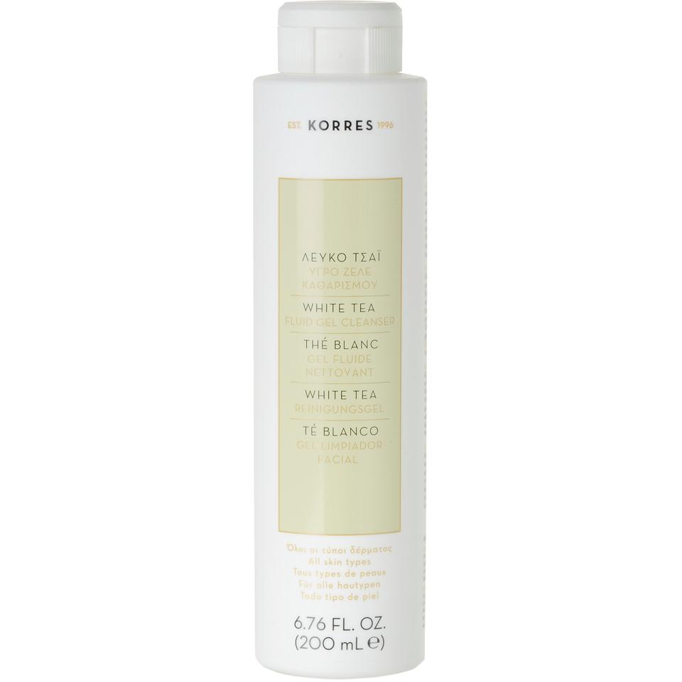 40105895c01 KORRES Natural White Tea Facial Fluid Gel Cleanser 200ml