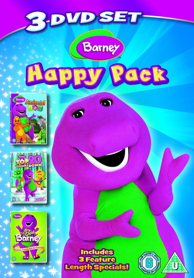 Barney Triple Pack Animal Abctop 20 Countdownbest Of Dvd Zavvi