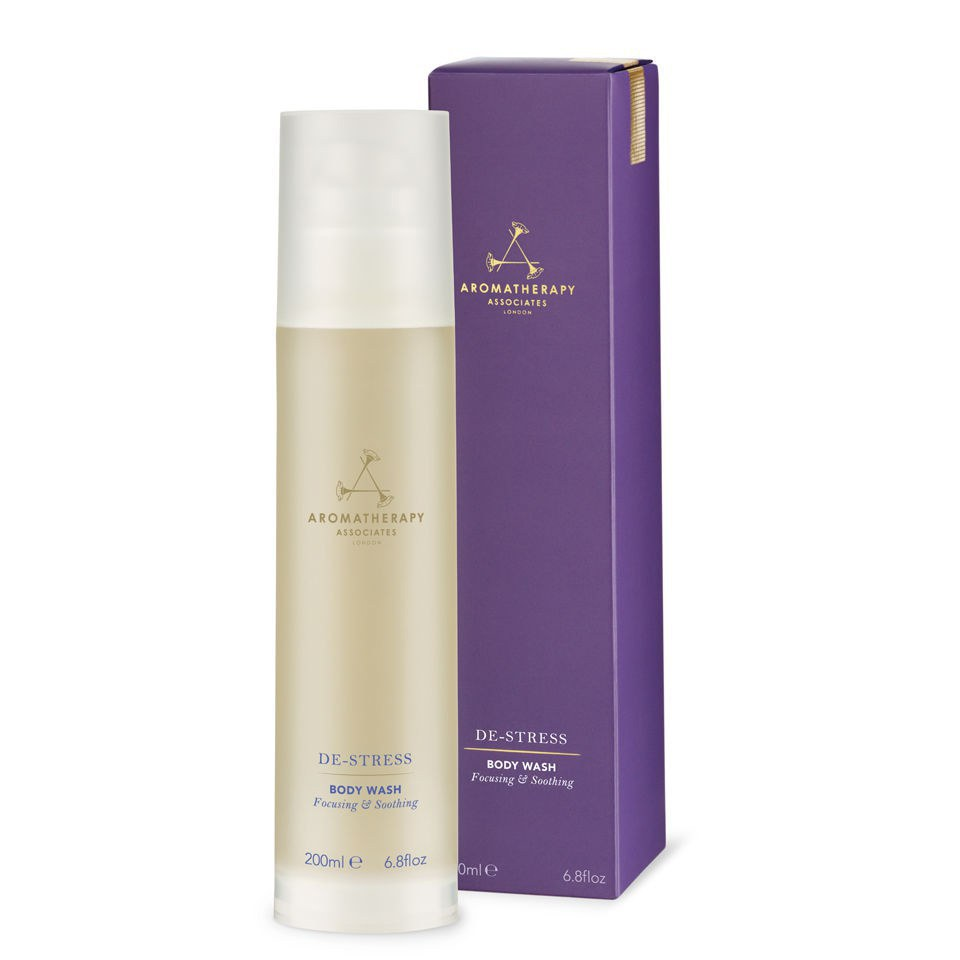 Aromatherapy Associates De Stress Body Wash 200ml Free Shipping Orange Ginger Lookfantastic
