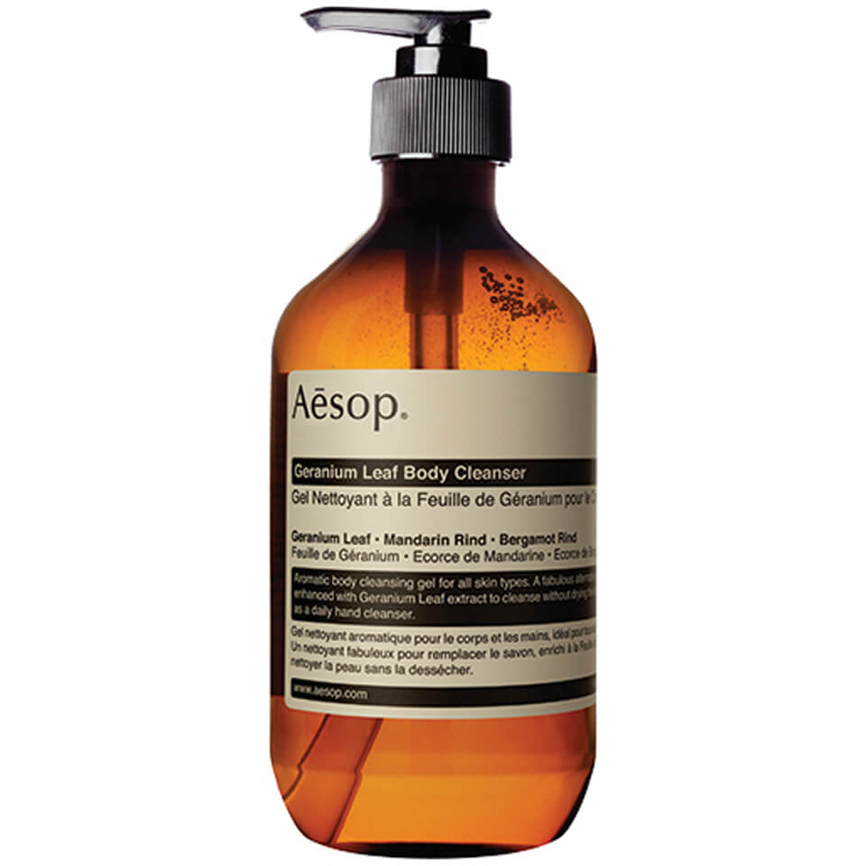 Aesop Geranium Leaf Body Cleanser Gel 500ml Buy Online
