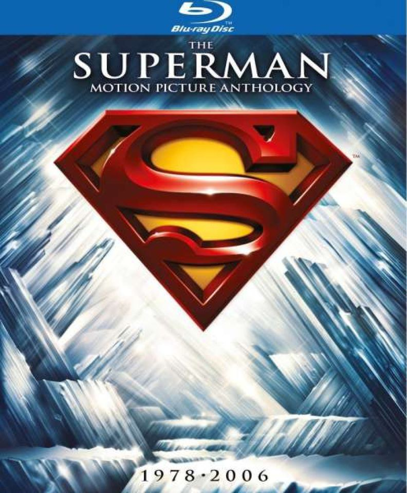 the superman anthology collection blu