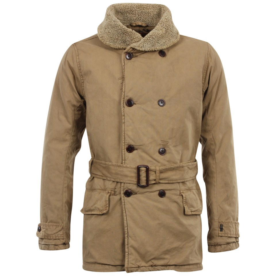 scotch and soda men 39 s long shawl parka olive clothing. Black Bedroom Furniture Sets. Home Design Ideas